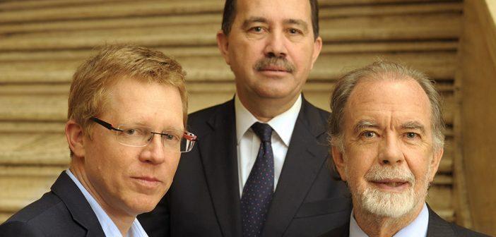 """Los presidentes de los tres principales bancos públicos en un encuentro exclusivo: """"Expandiremos más el crédito,  pero sin arriesgar la rentabilidad"""""""